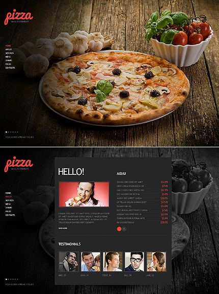 ADOBE Photoshop Template 40881 Home Page Screenshot