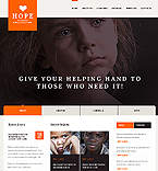 Charity Drupal  Template 40884