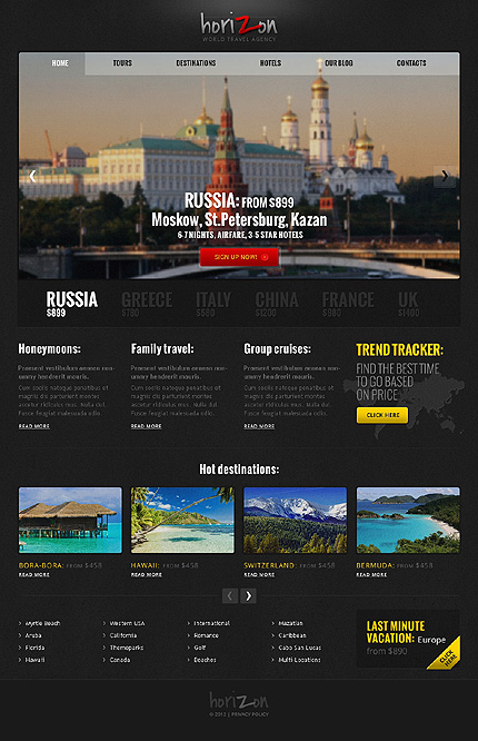Joomla Theme/Template 40890 Main Page Screenshot