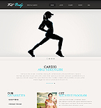 Sport Website  Template 40892