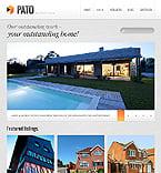 Real Estate Website  Template 40899
