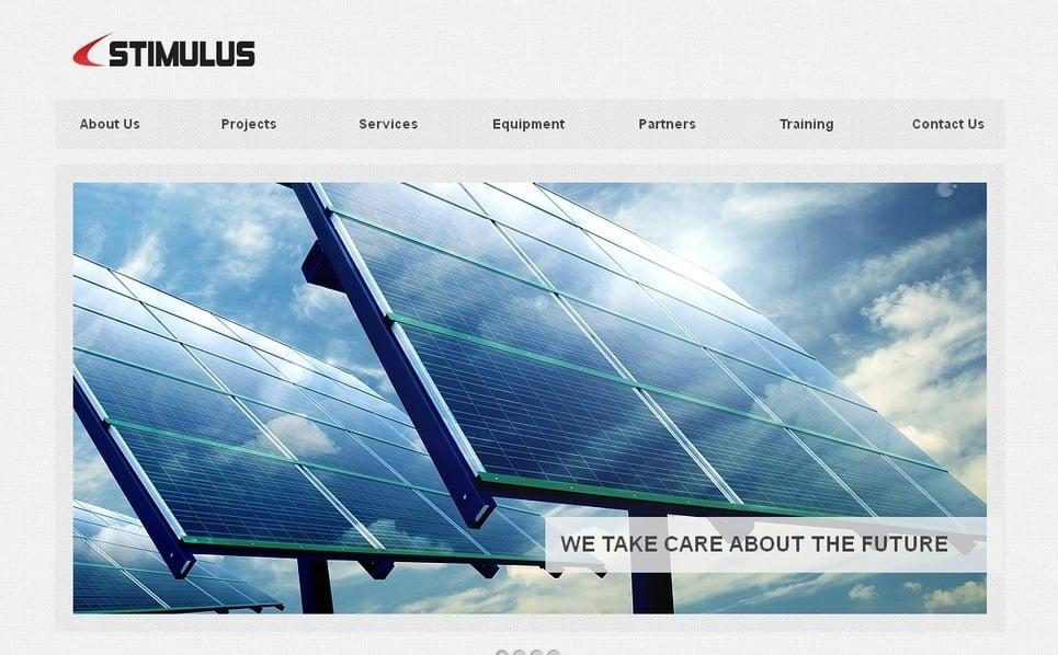 Endüstriyel  Moto Cms Html Şablon New Screenshots BIG
