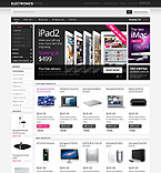 Electronics osCommerce  Template 40909