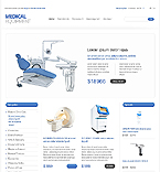 Medical OpenCart  Template 40923