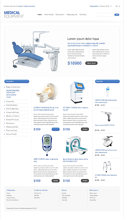 ADOBE Photoshop Template 40923 Home Page Screenshot
