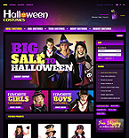 Halloween PrestaShop Template 40935