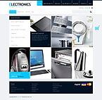 Electronics ZenCart  Template 40937