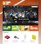 Sport OpenCart  Template 40943