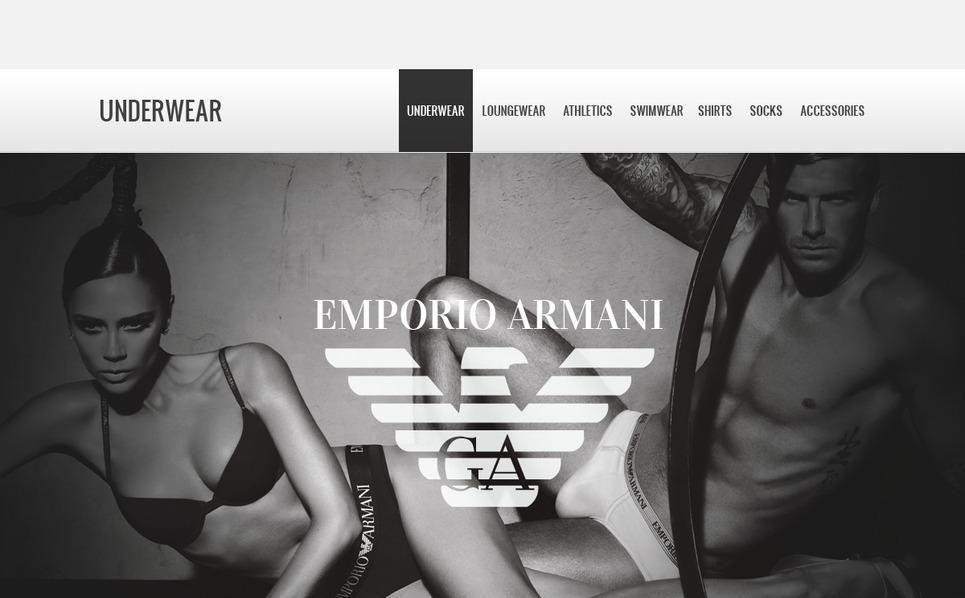 OpenCart Template over Lingerie  New Screenshots BIG
