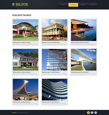 Template 40968 ( Portfolio Page ) ADOBE Photoshop Screenshot