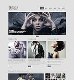 Fashion Website  Template 40969