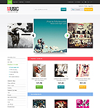 Music PrestaShop Template 40971
