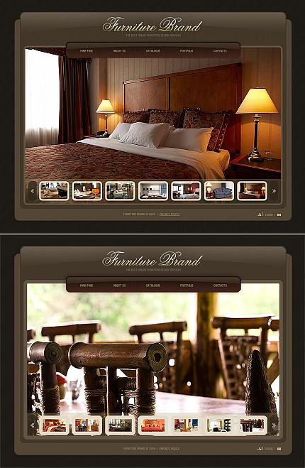ADOBE Photoshop Template 40977 Home Page Screenshot