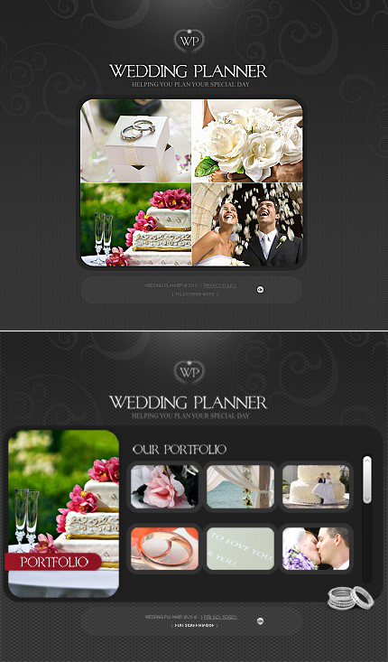 ADOBE Photoshop Template 40984 Home Page Screenshot
