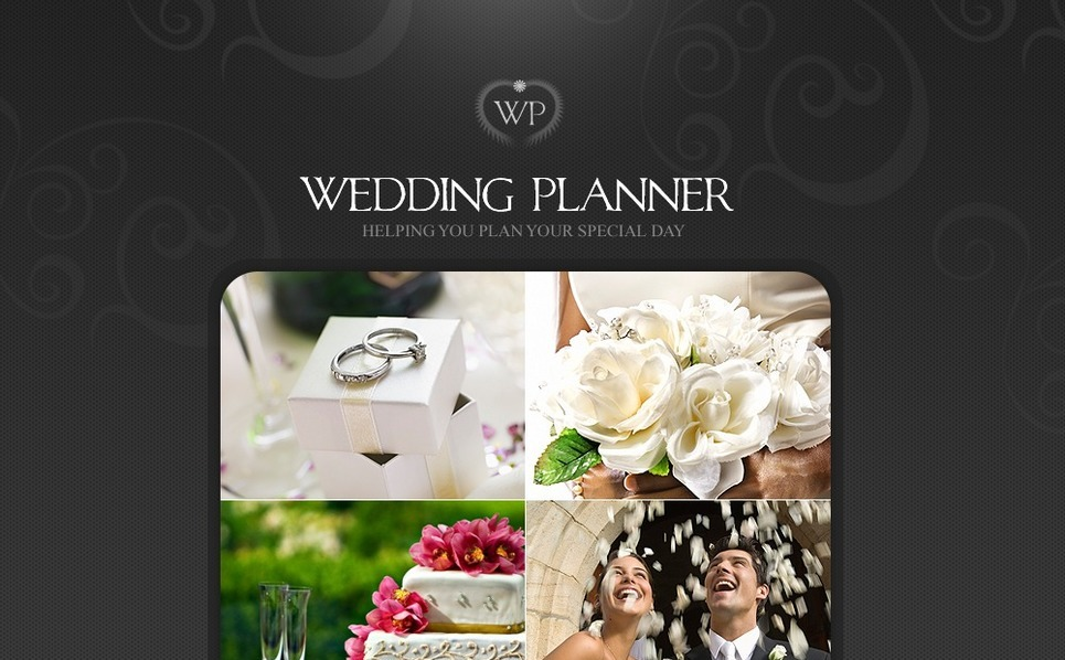 Plantilla Flash CMS #40984 para Sitio de Organización de bodas New Screenshots BIG