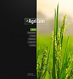Agriculture Flash CMS  Template 40986