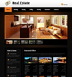 Real Estate Flash CMS  Template 40988