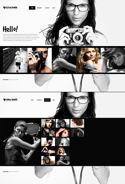 ADOBE Photoshop Template 40990 Home Page Screenshot
