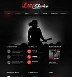 Music Flash CMS  Template 40991