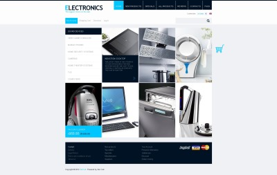 Szablon ZenCart #40937 na temat: sklep elektroniczny