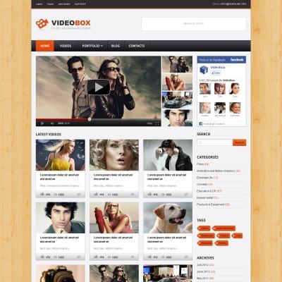 Temas WordPress para Sitios de Galerías de Vídeo