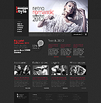 Fashion Website  Template 41007