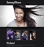 Art & Photography Moto CMS HTML  Template 41012
