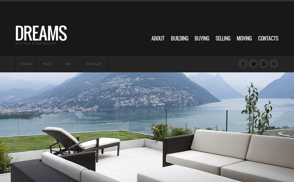 Premium Moto CMS HTML Template over Makelaarskantoor New Screenshots BIG