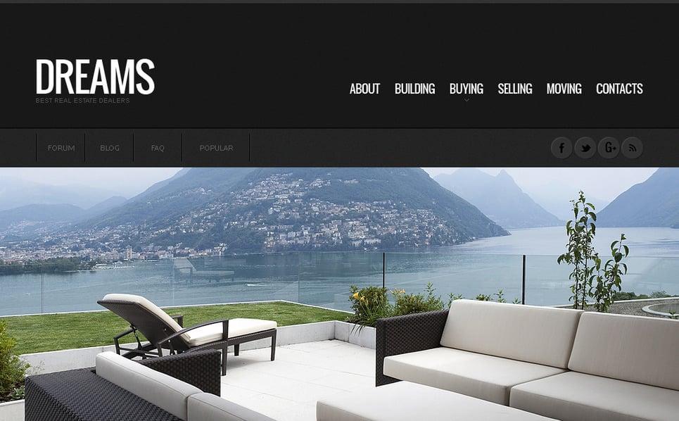 Plantilla Moto CMS HTML #41014 para Sitio de Inmuebles New Screenshots BIG