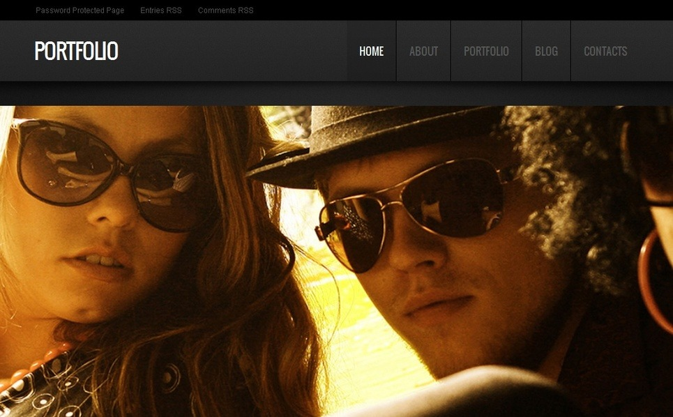 Modello Moto CMS HTML  #41015 per Un Sito di Fotografi Portfolio New Screenshots BIG