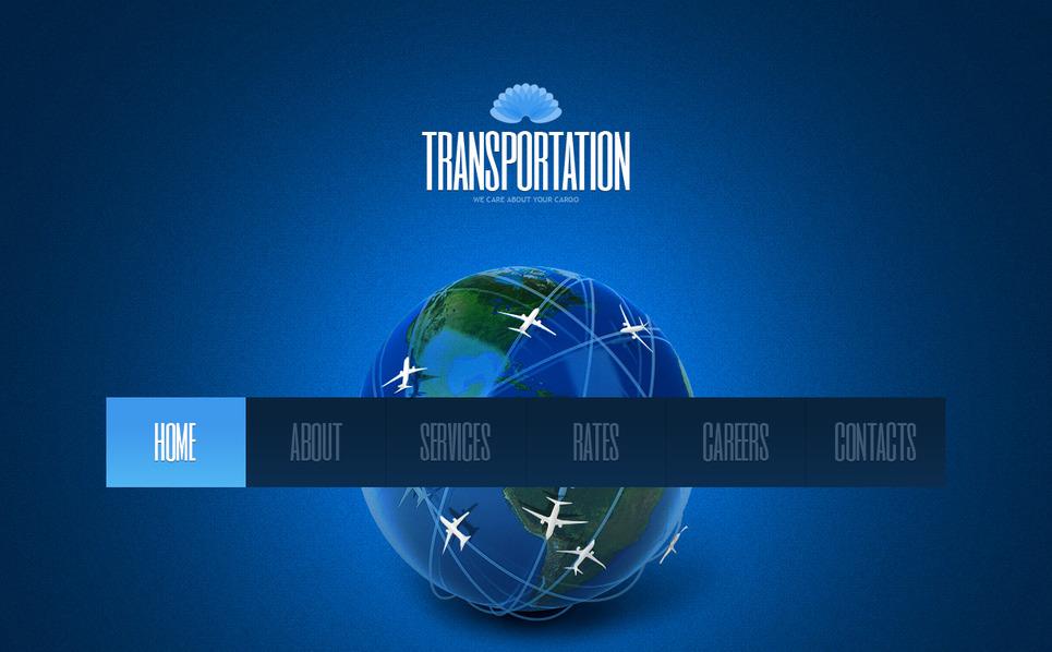 MotoCMS HTML шаблон на тему транспорт New Screenshots BIG