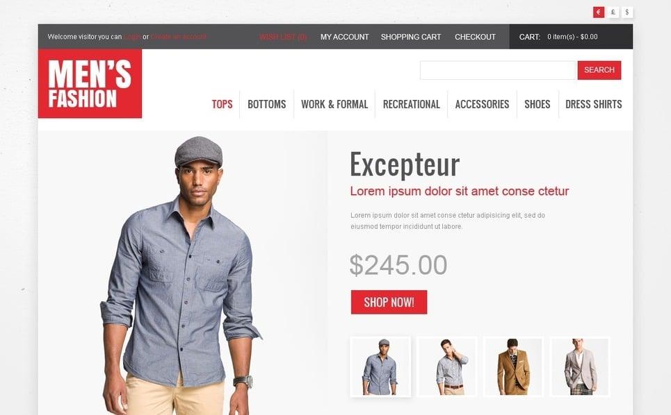 OpenCart шаблон на тему мода New Screenshots BIG