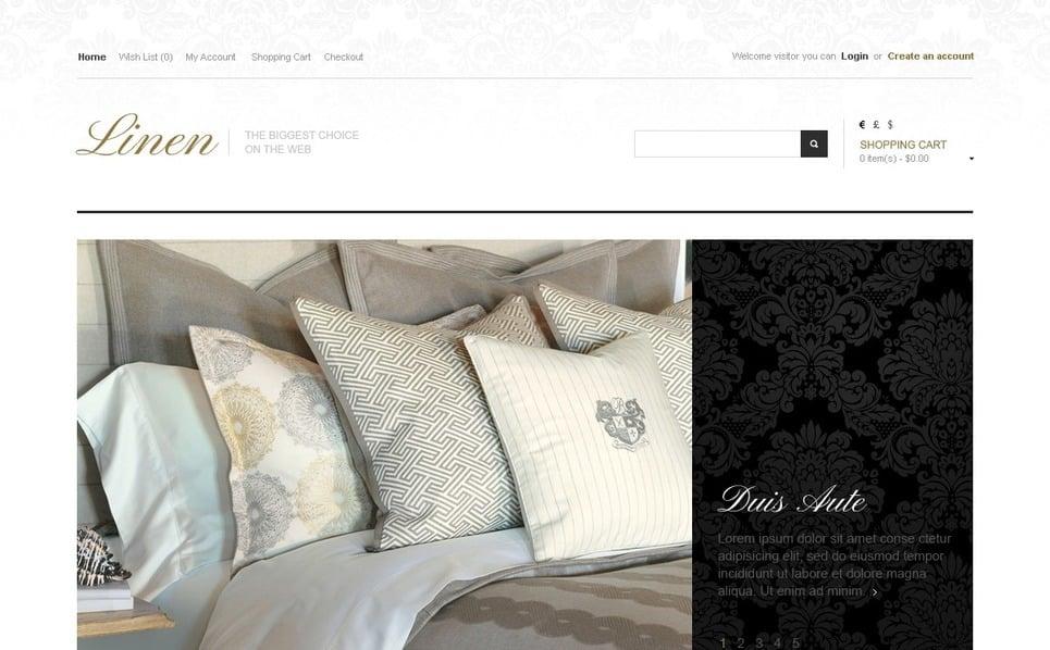 Thème OpenCart  pour site de décoration de la maison New Screenshots BIG