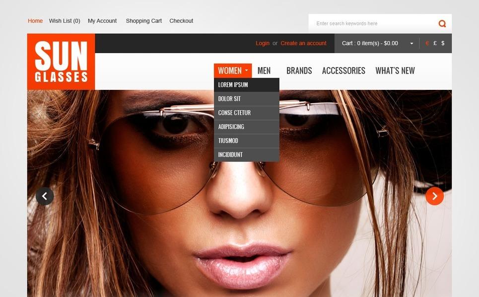 OpenCart Template over Liefdadigheid van Kinderen New Screenshots BIG
