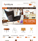 Furniture OpenCart  Template 41030