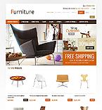 Furniture OpenCart  Template 41030