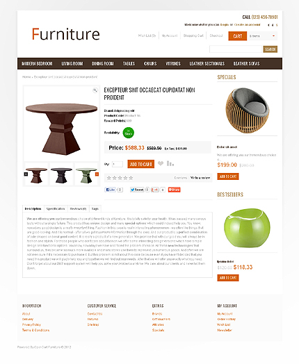 ADOBE Photoshop Template 41030 Home Page Screenshot
