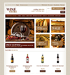 Food & Drink OpenCart  Template 41032