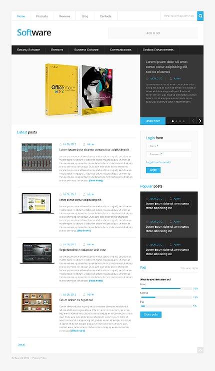 Drupal Template 41046 Main Page Screenshot
