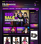 Halloween OpenCart  Template 41053