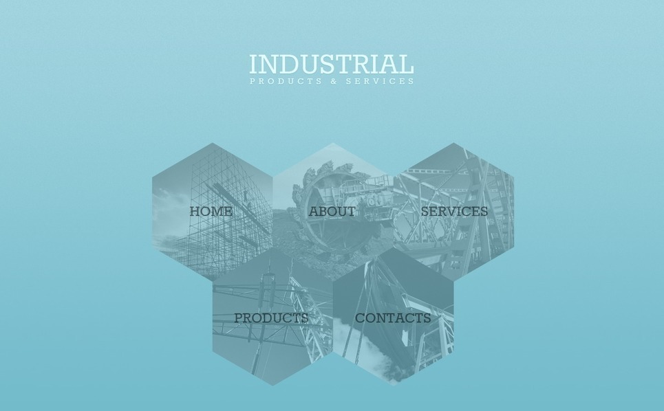 Modèle Web  pour site industriel  New Screenshots BIG