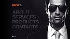 Security Website  Template 41074