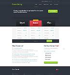 Web Hosting Website  Template 41079