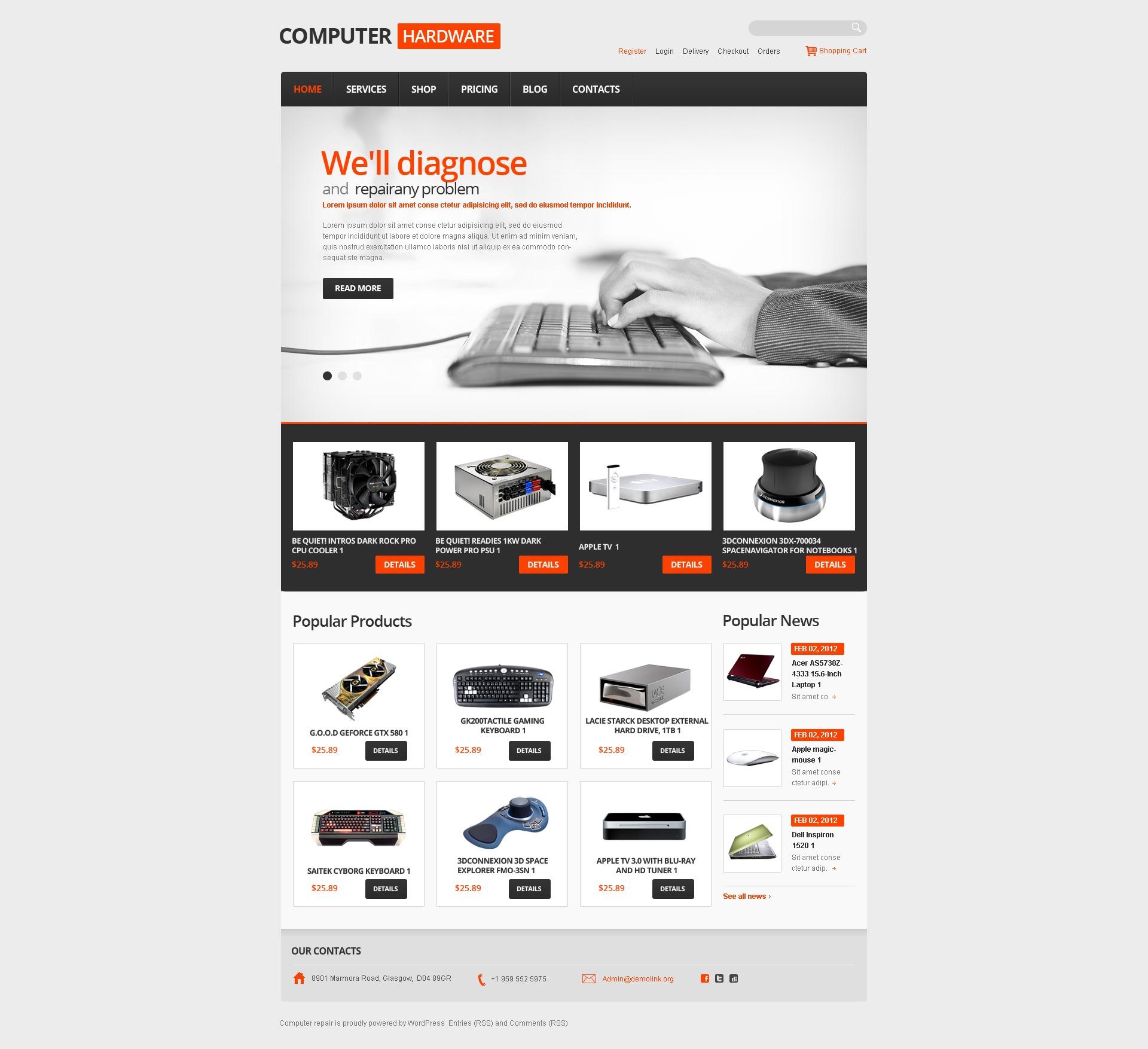 jigoshop theme 41094 f r computer reparatur. Black Bedroom Furniture Sets. Home Design Ideas