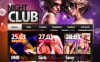 Premium Moto CMS HTML Template over Nachtclub New Screenshots BIG