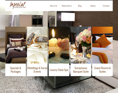 Szablon Moto CMS HTML #41017 na temat: hotele