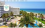 Hotels Website  Template 41100