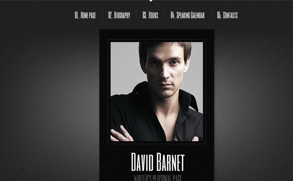 Website Vorlage für  Persönliche Seite New Screenshots BIG
