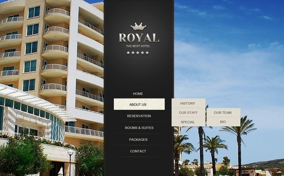 Website template over Hotels  New Screenshots BIG