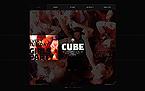 Night Club Website  Template 41111